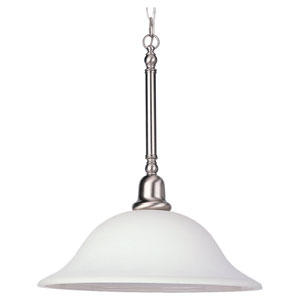 Partridge Brushed Nickel Dome Pendant