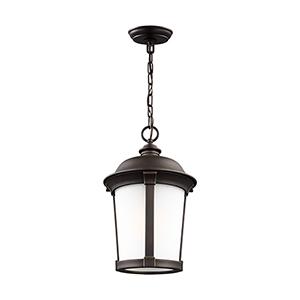 Anita Antique Bronze Energy Star 10-Inch One-Light Outdoor Pendant