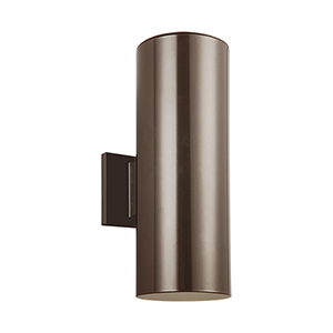 Castor Bronze 14-Inch LED Outdoor Wall Sconce