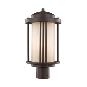 Uptown Antique Bronze Energy Star LED Outdoor Post Lantern