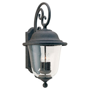 Lincoln Three-Light Outdoor Wall Mount