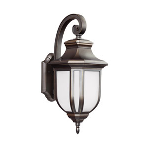 James Antique Bronze One-Light Outdoor Wall Sconce