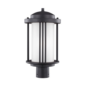 Uptown Black Energy Star LED Outdoor Post Lantern