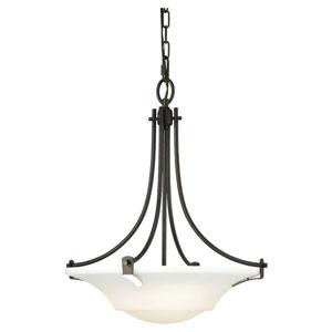 Evelyn Oil Rubbed Bronze Three-Light Uplight Pendant