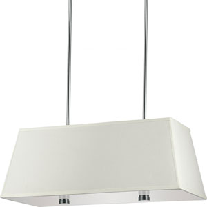 Lyndale Brushed Nickel Four-Light Pendant