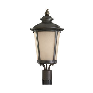 George Burled Iron Energy Star LED Outdoor Post Lantern