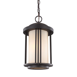 Uptown Antique Bronze One-Light Outdoor Pendant