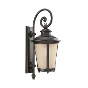 George Burled Iron Energy Star 26-Inch LED Outdoor Wall Lantern