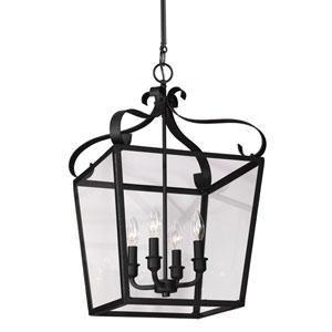 Webster Blacksmith Four-Light Pendant