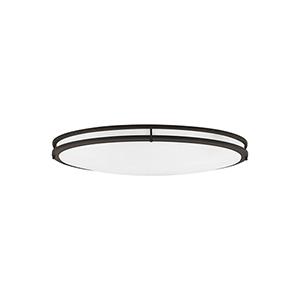 Nicollet Bronze Three-Light LED Energy Star Flush Mount