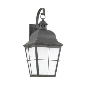 Hazel Oxidized Bronze 9-Inch One-Light Outdoor Wall Lantern