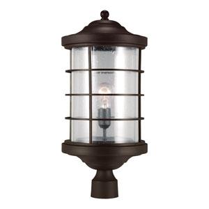 Lex Antique Bronze One Light Outdoor Post Lantern