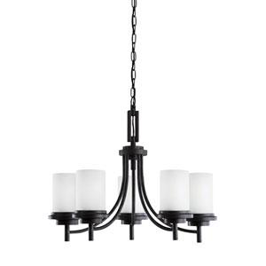 York Blacksmith Energy Star Five-Light LED Chandelier