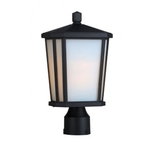 Kate Black One-Light Outdoor Post Mount