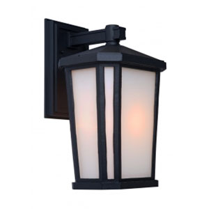 Kate Black 10-Inch One-Light Outdoor Wall Light