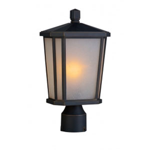 Kate Oil Rubbed Bronze One-Light Outdoor Post Mount