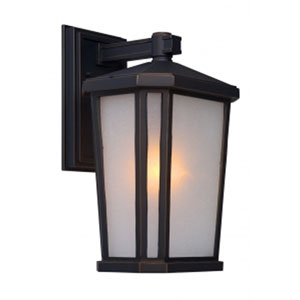 Kate Oil Rubbed Bronze 10-Inch One-Light Outdoor Wall Light