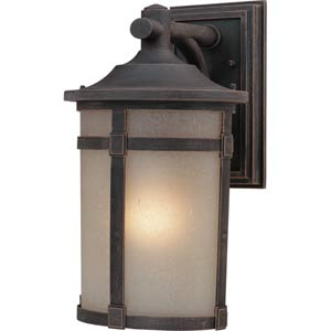 Nora Bronze 8-Inch One-Light Outdoor Wall Light