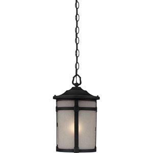 Nora Black One-Light Outdoor Pendant