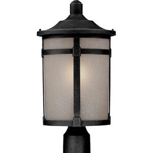 Nora Black One-Light Outdoor Post Mount