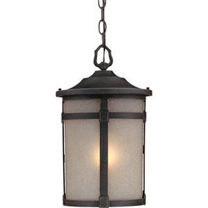 Nora Bronze One-Light Outdoor Pendant