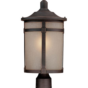 Nora Bronze One-Light Outdoor Post Mount
