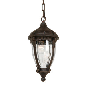 Russell Oil Rubbed Bronze Four-Light Outdoor Pendant