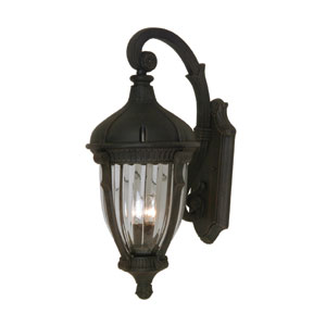 Russell Oil Rubbed Bronze 16-Inch Four-Light Outdoor Wall Light