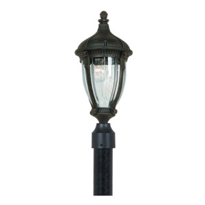 Russell Oil Rubbed Bronze One-Light Outdoor Post Mount