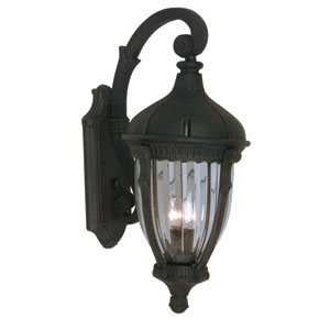 Russell Oil Rubbed Bronze 11-Inch Three-Light Outdoor Wall Light