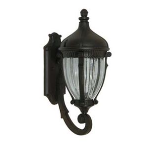 Russell Oiled Bronze 9-Inch One-Light Outdoor Wall Light
