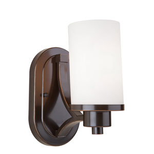 Oxford Oil Rubbed Bronze 6-Inch One-Light Wall Sconce