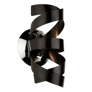 Camila Black One-Light Wall Sconce