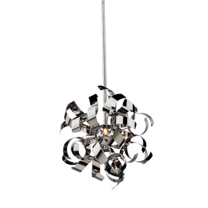 Camila Chrome Three-Light Pendant