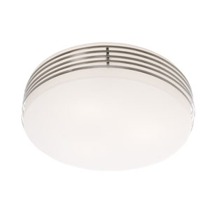 Madison Chrome 13-Inch Three-Light Flush Mount