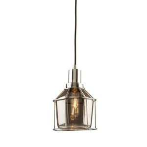 Madison Chrome 6-Inch One-Light Mini Pendant