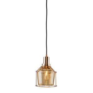 Madison Rose Gold 6-Inch One-Light Mini Pendant