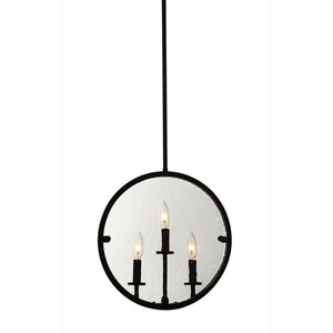 Irving Oil Rubbed Bronze Three-Light Pendant