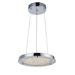 Essex Chrome 12-Inch LED Pendant