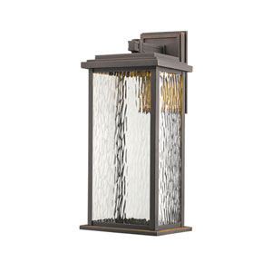 Pax Oil Rubbed Bronze 9-Inch LED Outdoor Wall Sconce