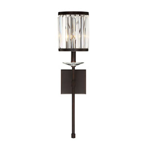 Diana Mohican Bronze Seven-Inch One-Light Wall Sconce