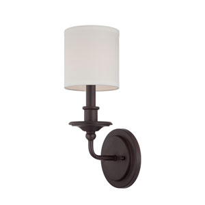 Preston English Bronze Six-Inch One-Light Wall Sconce