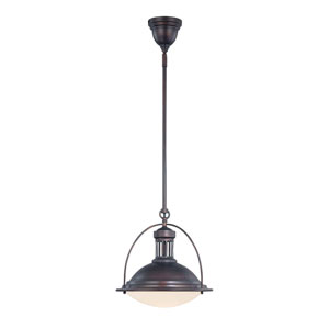Howe English Bronze 13-Inch One-Light Pendant