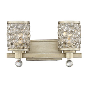 Camila Gold 16-Inch Two-Light Bath Vanity