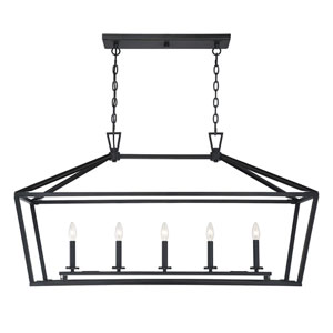 Anna Classic Bronze 16-Inch Five-Light Pendant
