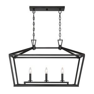 Anna Classic Bronze 16-Inch Three-Light Pendant