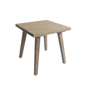 Afton Blonde 22-Inch Square End Table