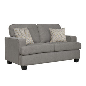 Linden Grey Loveseat