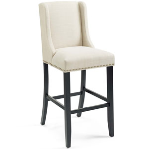 Linden Beige Bar Stool