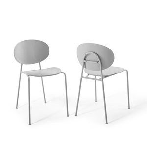 Nicollet Gray Side Chair - Set of 2